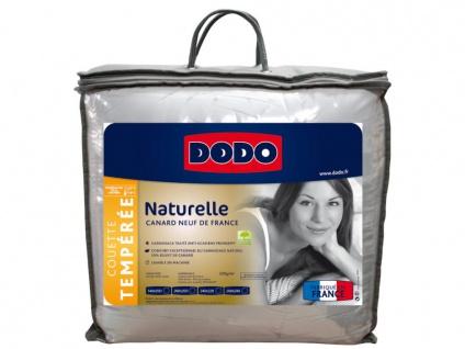 Bettdecke 50% Naturdaunen NATUR - 240x260cm