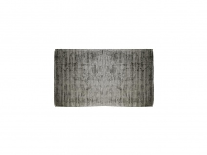 Teppich LOUVAIN - 100% Viskose - 200x290 cm - Anthrazit