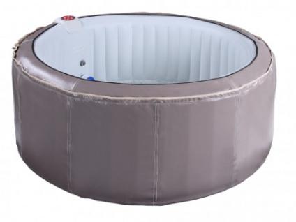 Whirlpool aufblasbar BCOOL III - 4 Personen - D180xH65cm - Grau