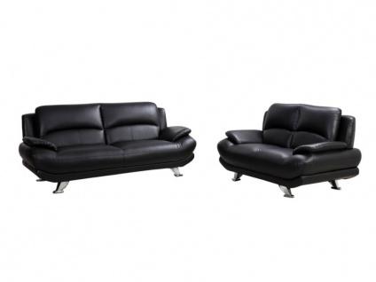 Sofa 2-Sitzer MUSKO - Elfenbeinfarben - Vorschau 4