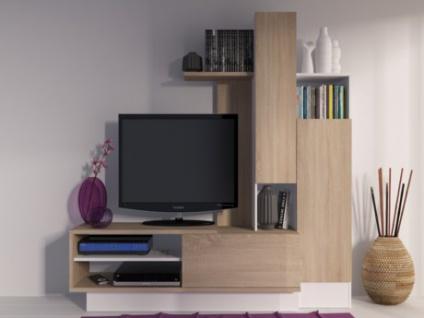TV-Möbel TV-Wand Balinto - Eichefarben
