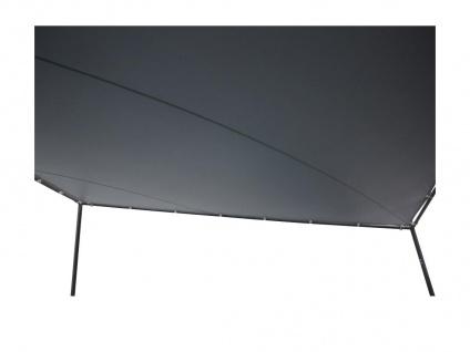 Gartenpavillon MORESBY - Stahl -Anthrazit - B350 x T350 x H290 cm - Vorschau 2