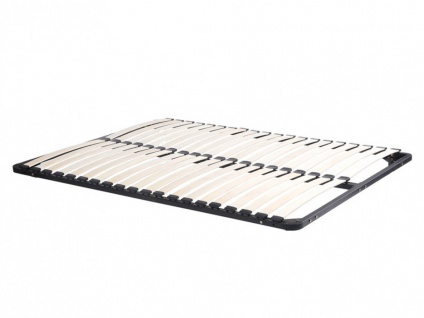 Lattenrost ErgoOpti Standard ohne Füße - 140x190cm - Schwarz