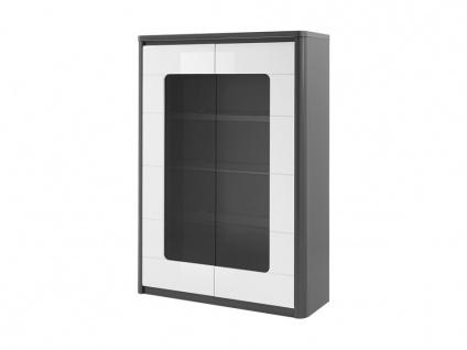 Vitrinenschrank mit LED-Beleuchtung PERCEPTION - 2 Türen - Vorschau 5