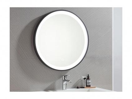 Spiegel mit LED-Beleuchtung NUMEA - B 60 x H 60 cm - Schwarz - Vorschau 4