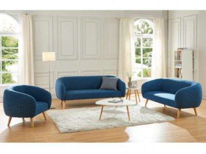 Couchgarnitur 321 Stoff Penny Blau Kaufen Bei Kauf Uniquede