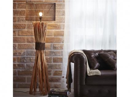 Stehlampe Holz & Metall BROCANTE - Vorschau 1