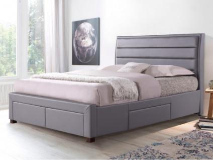 Bett mit Stauraum ABRAMO - 140x190cm - Kaufen bei Kauf-Unique.de
