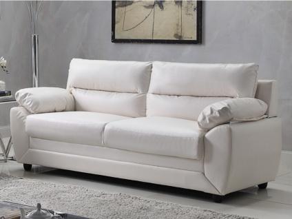 Sofa 3-Sitzer MANOA - Weiß
