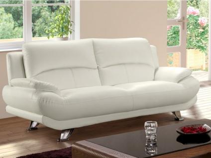 Sofa 3-Sitzer MUSKO - Elfenbeinfarben