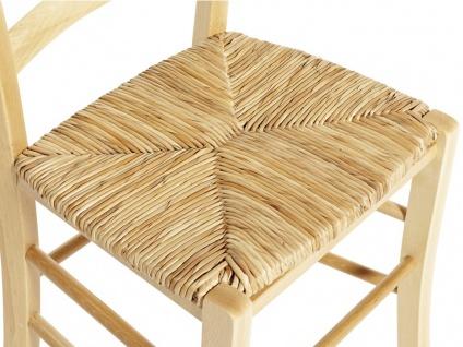 Stuhl 6er-Set Holz massiv PAYSANNE - Natur - Vorschau 4
