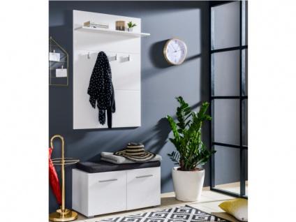 Garderobe LEONEL - 2 Türen & 1 Regal