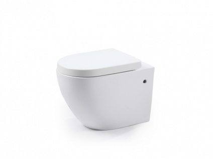Wand WC Keramik Kenji - Weiß - Vorschau 3