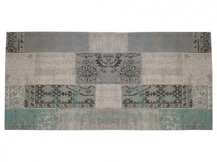 Flurteppich im Vintage-Stil TURIN - 100% Polyester - 80x200 cm