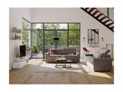 Atelier Glaswand NORWICH - Eisen - 120x90 cm - Schwarz