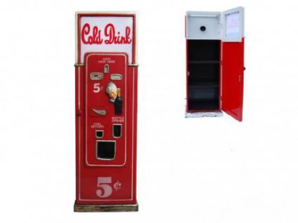 CD-Regal Retro Getränkeautomat mit Leuchte Cold Drink