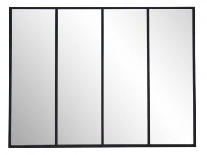 Atelier Glaswand DUDLEY - Eisen - 120x90 cm
