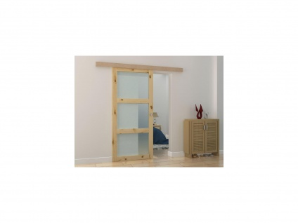 Schiebetür ACOSTA - H205 x B93 cm - Holz (MDF)