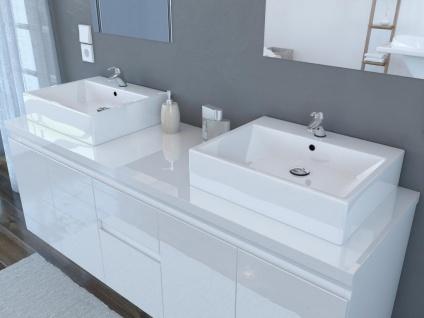 Komplettbad Lavita II - Weiß - Vorschau 3