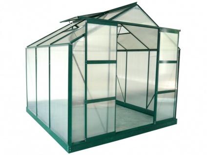 Garten Gewächshaus Aluminium Anissa - 5, 9 m²