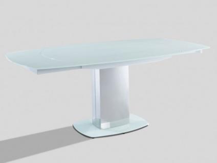 Esstisch Glas Talicia Ausziehbar Weiß Kaufen Bei Kauf Uniquede