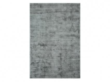 Teppich LOUVAIN - 100% Viskose - 200x290 cm - Silbergrau - Vorschau 3