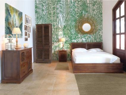 Kleiderschrank Massivholz Bali II - 4 Türen - Vorschau 2
