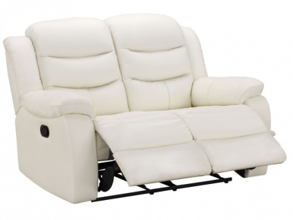 Relaxsofa Leder 2-Sitzer Pliton - Elfenbein - Vorschau 4