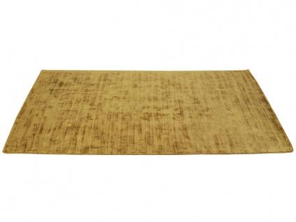 Teppich LOUVAIN - 100% Viskose - 200x290 cm - Senfgelb - Vorschau 4