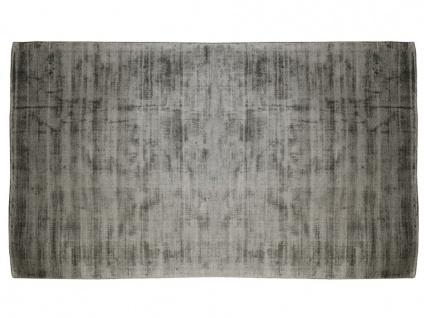 Teppich LOUVAIN - 100% Viskose - 160x230 cm - Anthrazit