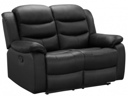 Relaxsofa Leder 2-Sitzer Pliton - Schwarz - Vorschau 2