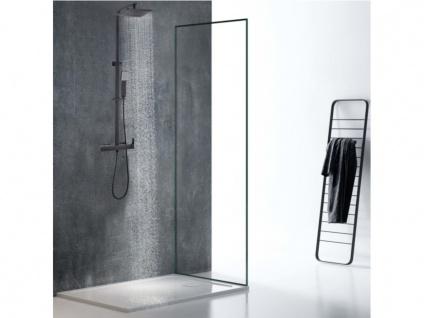 Duschsäule mattschwarzer Edelstahl PENEDA - 125cm