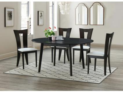 Sparset TIFFANY: Esstisch + 4 Stühle (5-tlg.)
