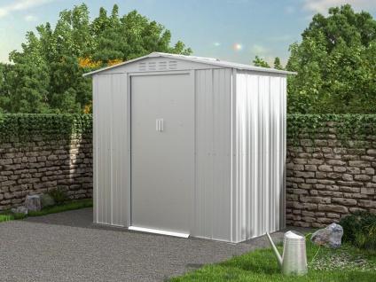 Gartenhaus Gerätehaus LINUS - Stahl - 2, 36 m²