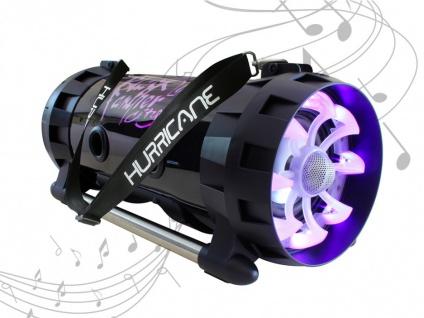 Karaoke Lautsprecher Anlage mobil HURRICAN von BLACK PANTHER - Vorschau 2