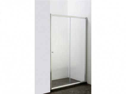 Duschtrennwand Seitenwand Schiebetür Jessica II - 140x190 cm