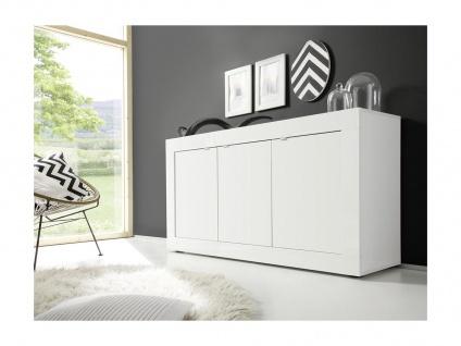 Sideboard COMETE - Weiß lackiert
