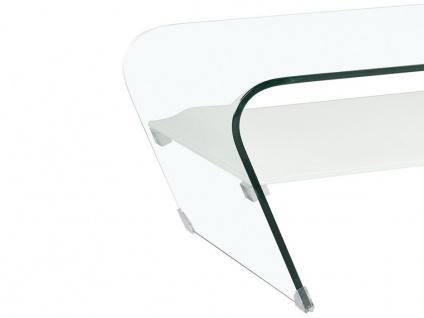 Couchtisch Glas Design KELLY - Weiß - Vorschau 4