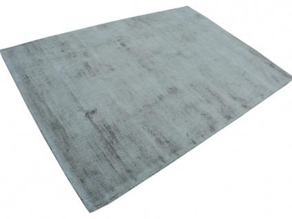 Teppich LOUVAIN - 100% Viskose - 200x290 cm - Silbergrau - Vorschau 4