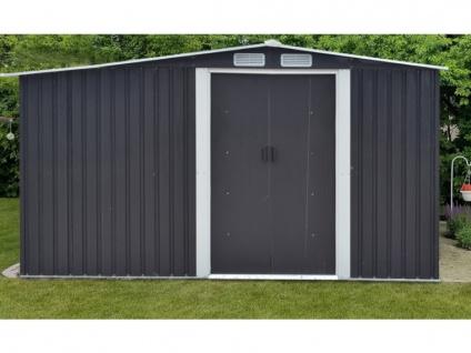 Gerätehaus Gartenhaus LERY - Stahl - 10, 5m²