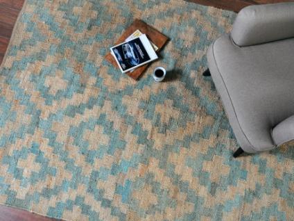 Teppich handgeknüpfter Hanf RILAS - 160x230 cm