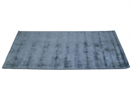 Teppich LOUVAIN - 100% Viskose - 200x290 cm - Dunkelblau - Vorschau 2
