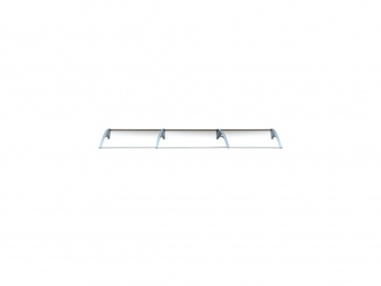 Vordach Aluminium Copalina - 360 x 92, 5 cm
