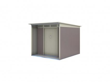Gerätehaus Stahl Colmar - 5, 5m² - Vorschau 2