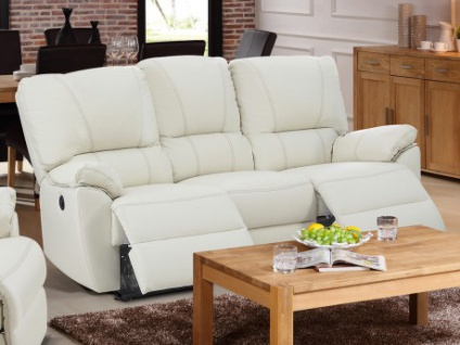 relaxsofa leder 3 sitzer g nstig kaufen bei yatego. Black Bedroom Furniture Sets. Home Design Ideas
