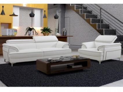 Couchgarnitur 3+1 Voltaire - Weiß