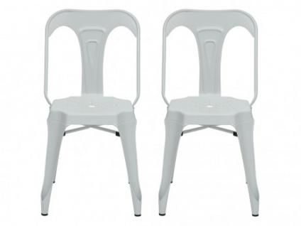 Stuhl 2er-Set BAGIO - Weiß