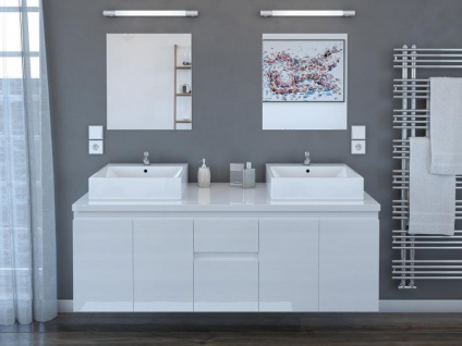 Komplettbad Lavita II - Weiß - Vorschau 4