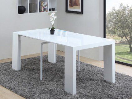 hochglanz konsolentisch wei g nstig online kaufen yatego. Black Bedroom Furniture Sets. Home Design Ideas