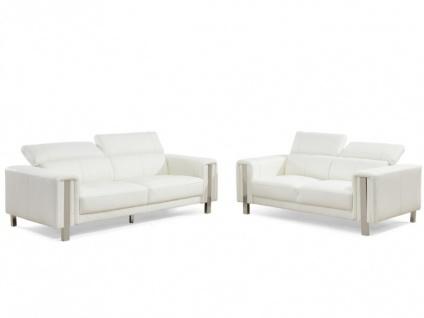 Couchgarnitur 3+2 MAROUA - Weiß - Vorschau 5